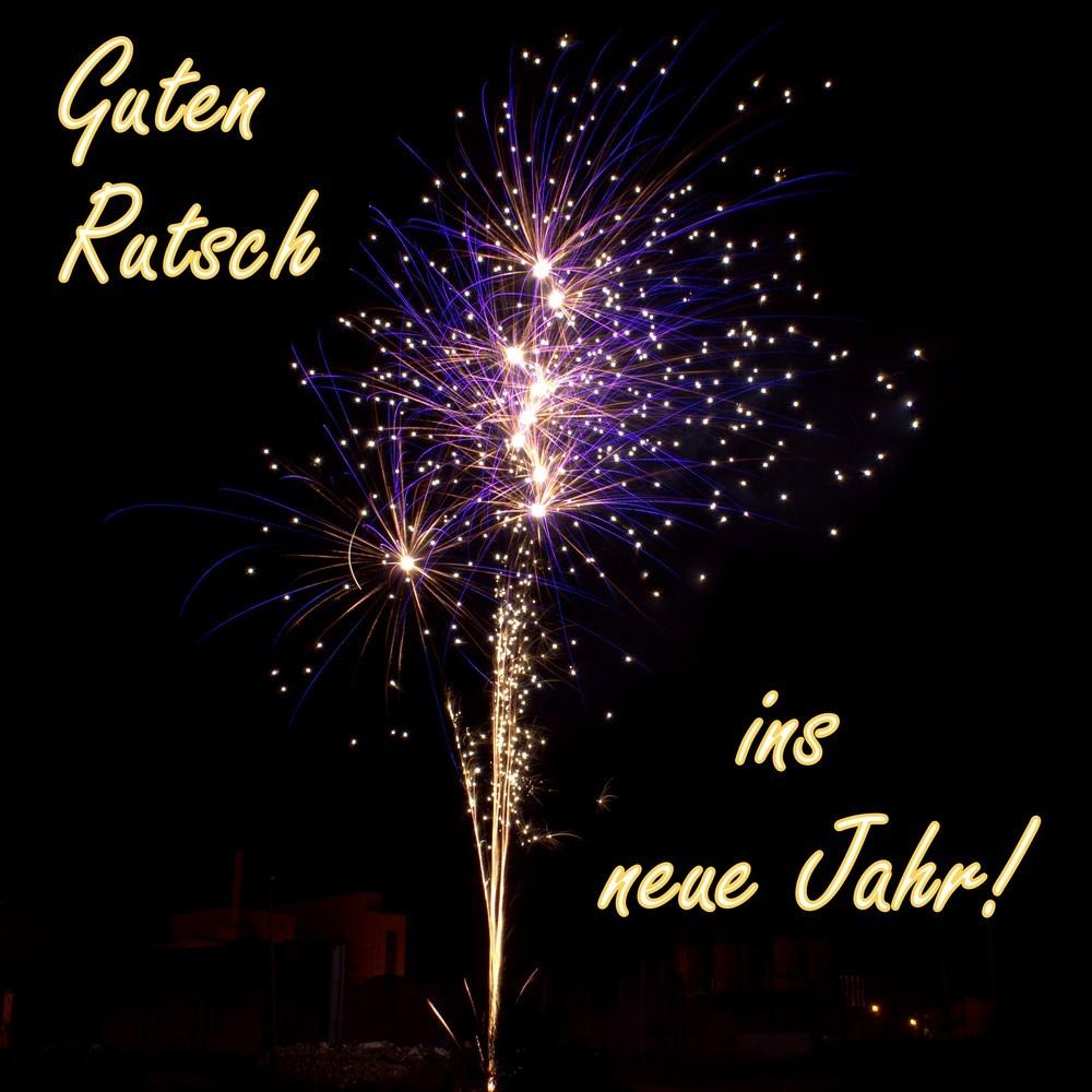 Ich WГјnsche Euch Ein Guten Rutsch Ins Neue Jahr