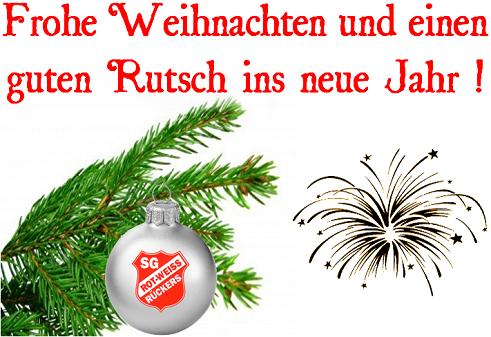 Frohe Weihnachten Guten Rutsch Ins Neue Jahr.Frohe Weihnachten Und Einen Guten Rutsch Ins Neue Jahr
