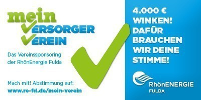 VOTING: 4.000 € Sponsoring der RhönEnergie Fulda GmbH